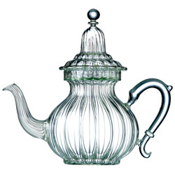 SULTANE  - Hand blown glass teapot 5 cups