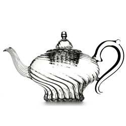HAPPY ALADIN  - Hand blown glass teapot 5 cups