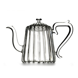 HAPPY ME  - Hand blown glass teapot 4 cups