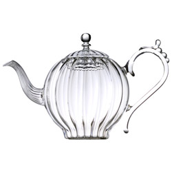 HAPPY TZAR  - Hand blown glass teapot 5 cups