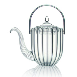KASHMIR - Hand blown glass teapot 3 cups