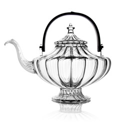 BLACK MAGIC® - Hand blown glass teapot 5 cups