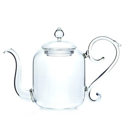 BEAUX ARTS - Hand blown glass teapot 4 cups