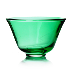 RAINBOW TEA - Glass tea cup emerald