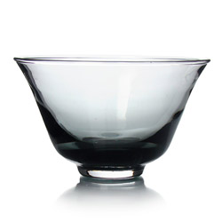 RAINBOW TEA - Glass tea cup grey