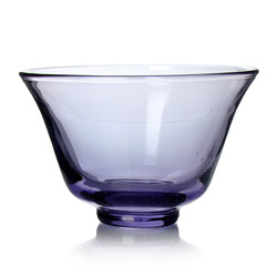 RAINBOW TEA - Glass tea cup purple
