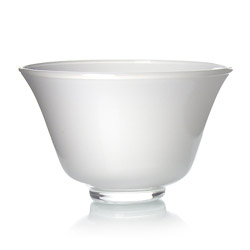 RAINBOW TEA - Glass tea cup white