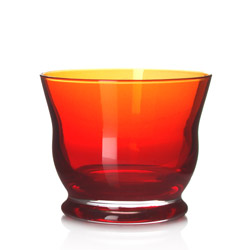 SURABAYA - Glass tea cup red