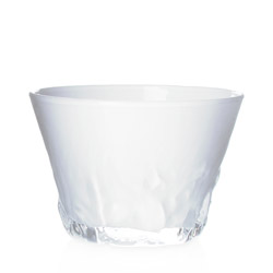 ZANZIBAR - Glass tea cup white