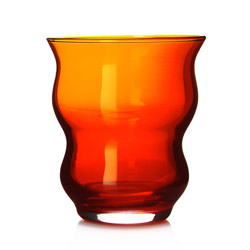 CASABLANCA® - Glass tea cup orange