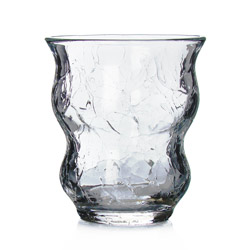 CASABLANCA® - Glass tea cup craqueled