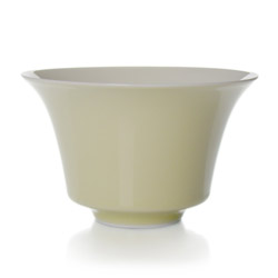LUCKY  - Porcelain tea cup taupe