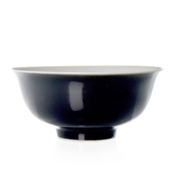 VÉNUS  - Porcelain tea cup black