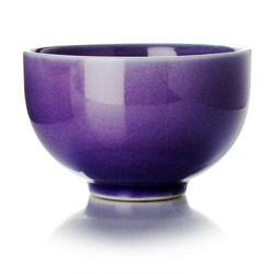 TAIPING - Tazza in ceramica smalto viola