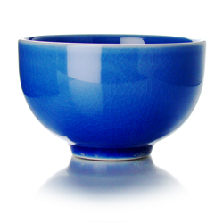 TAIPING - Tazza in ceramica smalto blu