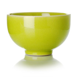 TAIPING - Tazza in ceramica smalto verde lime