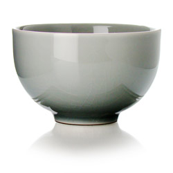 TAIPING - Stoneware tea cup grey enamel