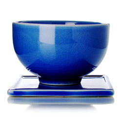 TAIPING - Tazza & s/tazza in ceramica smalto blu