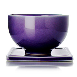 TAIPING - Tazza & s/tazza in ceramica smalto viola