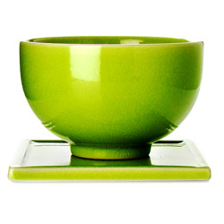 TAIPING - Tazza & s/tazza in ceramica smalto verde lime