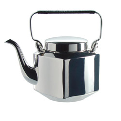 TEA CLUB - Silver plated teapot 2 cups