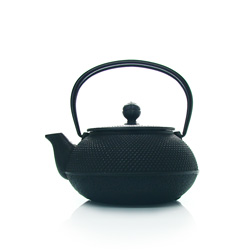 ARARE - Cast-iron teapot black - 3 cups