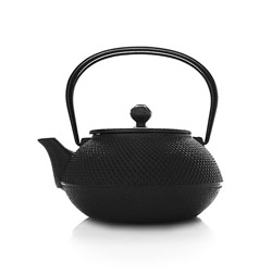 ARARE - Cast-iron teapot black - 5 cups