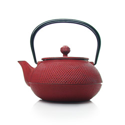 ARARE - Cast-iron teapot red - 5 cups