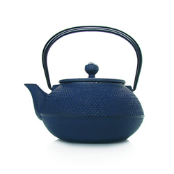 ARARE - Cast-iron teapot blue - 5 cups