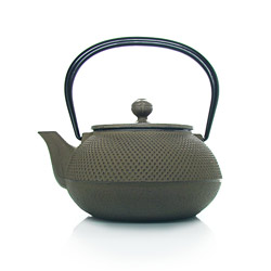 ARARE - Cast-iron teapot brown - 5 cups