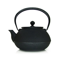 ARARE - Cast-iron teapot black - 7 cups