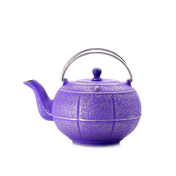PLEINE LUNE® - Cast-iron teapot purple - 3 cups