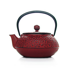 NATSUMI - Cast-iron teapot red - 3 cups