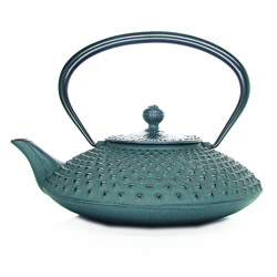 KANBIN - Cast-iron teapot green - 7 cups