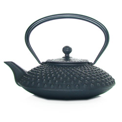 KANBIN - Cast-iron teapot black - 7 cups
