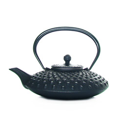 KANBIN - Cast-iron teapot black - 4 cups