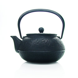 SYCOMORE - Cast-iron teapot black - 5 cups