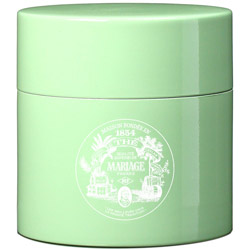 TEA PARTY - Empty tea canister celadon & lacquered