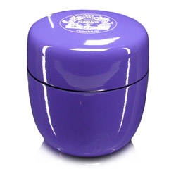 CÉRÉMONIE - Empty tea canister light purple & lacquered