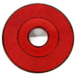 ARARE - Cast-iron trivet red