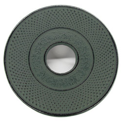 ARARE - Cast-iron trivet green