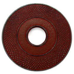 ARARE - Cast-iron trivet crimson