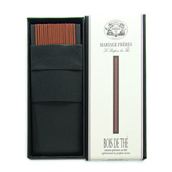 BOIS DE THÉ® - Sophisticated tea parfum incense Set of 20 sticks