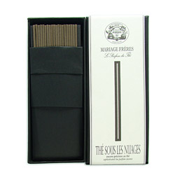 THÉ SOUS LES NUAGES® - Sophisticated tea parfum incense Set of 20 sticks