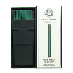 THÉ INTERDIT® - Sophisticated tea parfum incense Set of 20 sticks