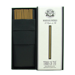 TERRE DE THÉ® - Sophisticated tea parfum incense Set of 20 sticks