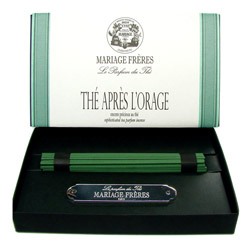 THÉ APRÈS L'ORAGE® - Sophisticated tea parfum incense Set of 50 sticks