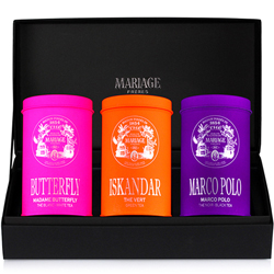 CHARISMATIC TEAS® - 3 teas gift set Green tea, white tea & black tea