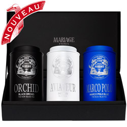 AVIATEUR® - Gift set of 3 teas