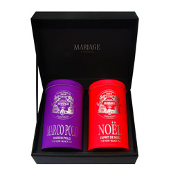 BLACK TEAS - 2 teas gift set Marco Polo® & Noël®